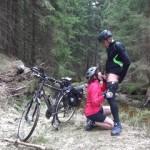 Fick bei der Fahrradtour!